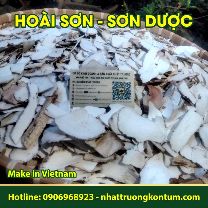 Hoài Sơn Sơn Dược Nhật Trường Kon Tum - Rhizoma Dioscoreae persimilis - Túi 1kg